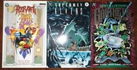Azrael Ash 1997 DC Superman Aliens 3 1995 Ganthet's Tale Green Lantern TPB LOT