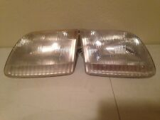 Headlight HEADLAMP Assembly FORD PICKUP F150 Pair Right and Left Sides 1997 OEM