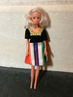 "Vintage Doll Made in Hong Kong 1960/1970's 12"" tall"