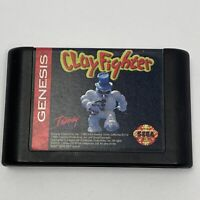 Clay Fighter (Sega Genesis, 1994) Cartridge Only Tested