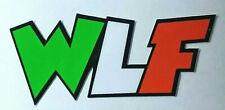Valentino Rossi WLF adesivo stickers  tributo adesivi