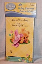 New In Package Winnie The Pooh Baby Shower Game Book Party Supplies