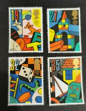 Great Britain 1989 Games and Toys set MUH J12