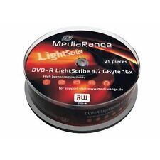 MediaRange 4.7GB Blank Computer DVD - Rs Discs