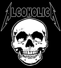 VINTAGE METALLICA 'ALCOHOLICA' SHIRT! CLIFF BURTON. 2XL - Ride The Lightning