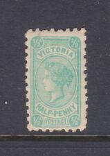 Victoria: 1/2d Qv Blue Green Typeiii Wmk Ca Sg 416 Muh