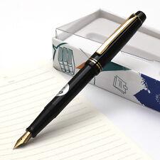 Original NAMIKI Pilot 78G Fountain Pen Screw Cap 22K Gold Nib Fine Lacquer Black