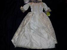 Barbie Princess & the Pauper Girls Kids Child Princess Costume Bride Nwt 7/8