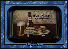 Advertising Tray #20 Coors Beer Trade Card (C389)