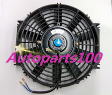 For Universal Electric Cooling Fan 14 inch 12V volt Thermo Fan + Mounting kits