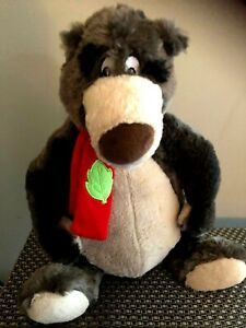 The Jungle Book Baloo The Bear Plush Stuffed Toy 16 Inch