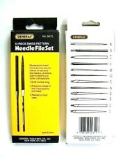 File Set Needle Files 12pc Swiss Pattern General Tool For Jewelry Hobby & Craft