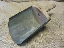 Vintage Metal & Wood Scoop > Antique Old Store Grain Shovel Seed Farm 9588