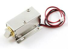 Electronic Latch Lock Catch Door Gate 12V Electric Release Assembly Solenoid CXL