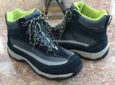 LL Bean Women's Blue Primaloft Ankle Winter Snow Sneakers Boots Sz 7.5M #258269