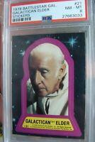 😍 Battlestar Galactica Topps Card STICKER Lot 1978 set break trading PSA 8 #21