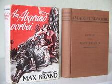 MAX BRAND AM ABGRUND VORBEI; KNAUR