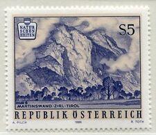 Österreich 1851 Naturschönheiten (III): Martinswand bei Zirl - 1986 postfrisch