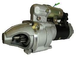 STARTER HITACHI EXCAVATOR EX200-1 EX200-2 EX200-3 ISUZU 6BD1 1-81100-197-0