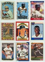PITTSBURGH PIRATES HOF/STAR Baseball Card Lot - 27 Cards - BARRY BONDS, STARGELL