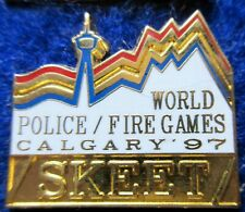 WORLD POLICE -FIRE GAMES 97 SKEET pin