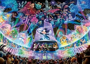 Tenyo Jigsaw Puzzle Disney Water Dream Concert 2000 Piece Japan