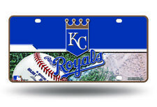 KANSAS CITY ROYALS CAR TRUCK TAG LICENSE PLATE MLB BASEBALL METAL SIGN