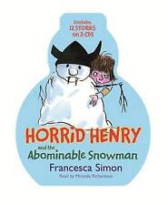 Horrid Henry and the Abominable Snowman 3CDS 12 Stories audio books Franc Simon