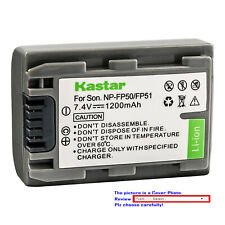 Kastar Replacement Battery Pack for Sony NP-FP30 NP-FP50 NP-FP51 NP-FP60 NP-FP70