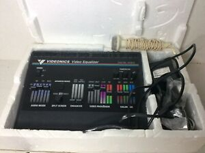Videonics Video Equalizer Model VE-1 NTSC with Power Cord Very Clean
