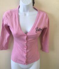 Beautiful Wheels & Dollbaby Pink cardigan Size 8 ~ Hardly worn