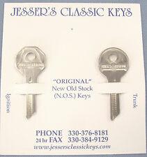 Rare HUDSON Briggs & Stratton GV 14 Original Keys NOS 1937 1938 1939 1940 1941