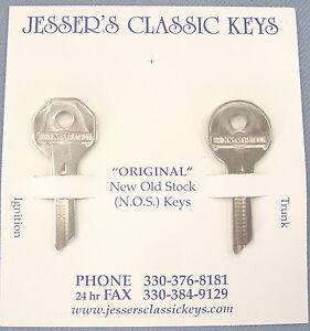 Rare HUDSON Briggs & Stratton GV 14 Original Keys NOS 1953 1954 1955 1956 1957