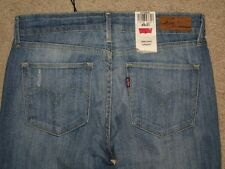Levi's Size 4 S / C Demi Curve Classic Straight Leg Stretch New With Tags