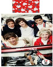 One Direction Sweetheart Single Panel Duvet Cover Bed Set Official 1D New Gift