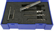 Brooke Solid Carbide 2 Flute Ball Nosed Slot Drill Set 3mm 4mm 5mm 6mm 8mm 10mm
