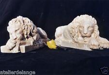 Lions serre livre lourdes statues trés détaillées 2018
