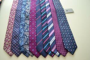 Job Lot Bundle of Alexandre of England x 10 silk neckties