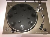 Sony PS-3750 Direct Drive Manual Turntable Tested - RARE -  Free Shipping