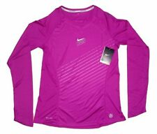 Nike Running Long Sleeve Tops for Women with Breathable