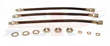 Brand New Brake Hose Set W Hardware for MG TD TF Made in the UK