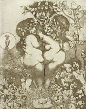 "Charles Bragg ""Lust"" Hand Signed & Numbered Etching Fine Artwork, MAKE AN OFFER!"