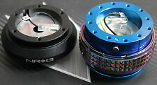 NRG STEERING WHEEL QUICK RELEASE HUB 2.1 BLUE-NEO MITSUBISHI 88-04 LANCER