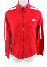 ADIDAS Womens Tracksuit Top Track Jacket 12 Pink Cotton