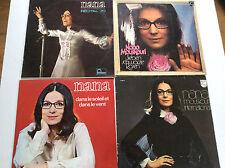Nana Mouskouri [4 LP Vinyl] Dans le Soleil + Recital 70 + International + Rosen