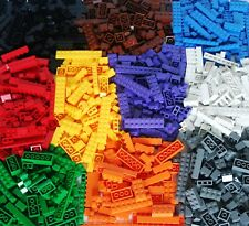 1040 generic Building Bricks Pieces, roof, doors, windows and Wheels,~4Lbs