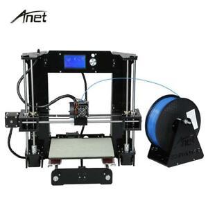 Anet A6 A8 Impresora 3D Printer Kit Auto Leveling  Big Size Reprap i3 DIY Printe