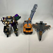 Lot of 3 2004 Transformers Armada Jet Hasbro Missing Pieces Incomplete Takara