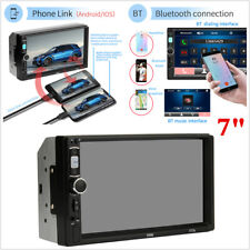 """7"""" Double 2 DIN Car Stereo Radio MP5 Audio Player In-Dash AUX BT FM + Remote Kit"""
