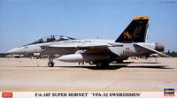 F/A - 18F VFA - 32 SWORDSMEN Limited Edition 1/72 Hasegawa